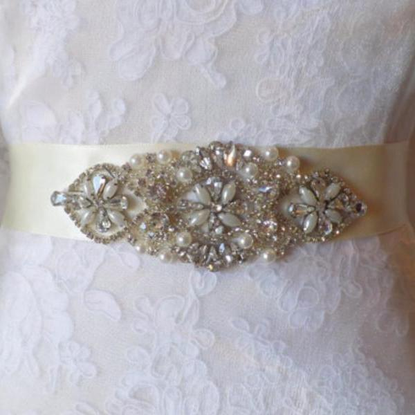 Wedding Belt, Bridal Belt, Sash, Bridal Sash, Belt, Crystal Sash, Rhinestone Belt, Wedding Belt Sash, Crystal Wedding Belt,